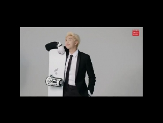 180116 RM @ Lotte Duty Free Behind the Scene