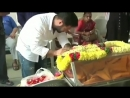 Jr NTR Pays Tribute To Lakshmi Garu/НТР мл.отдает дань уважения Лакшми Гару