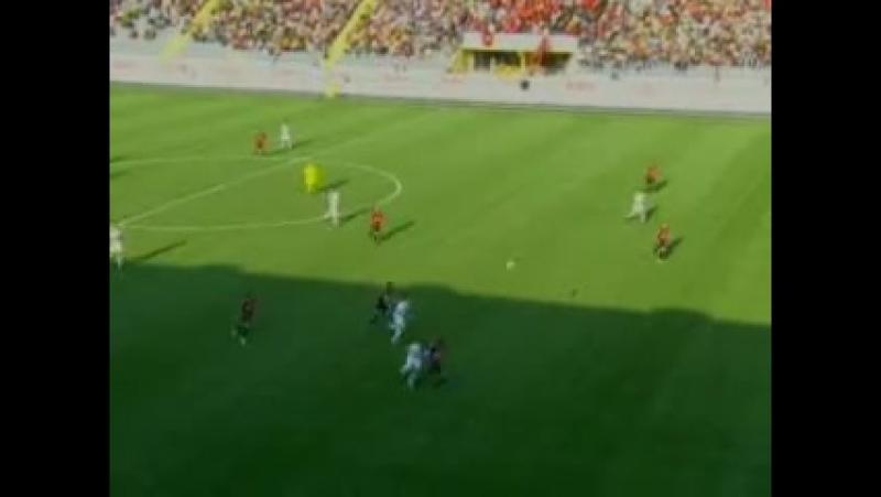 2008 - 2009 Sezonu - Gençlerbirliği-Beşiktaş dakika 3 gol Tello