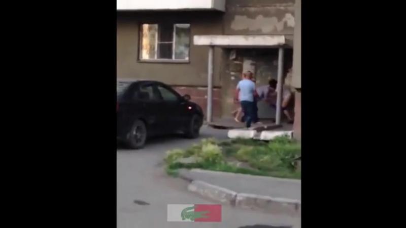 Голожопый замес в суровом Челябинске