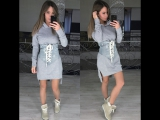 Платье (размер S M L, ткань трехнитка с петлей ,арт.10932) цена 4000 руб.