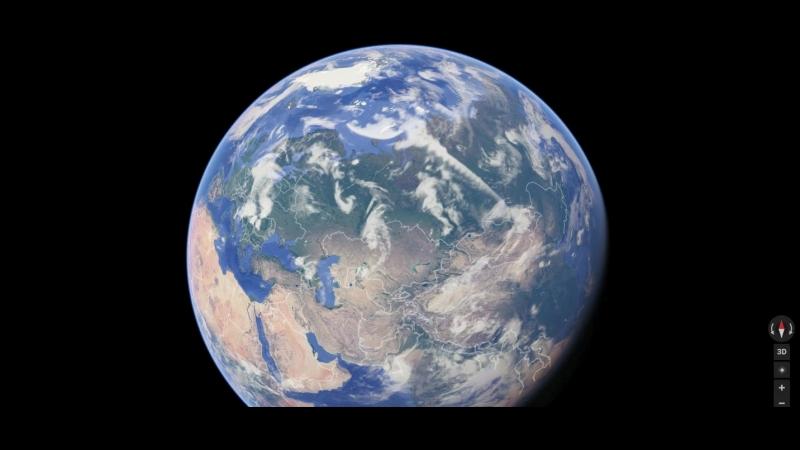 Шапка Серверного полюса ДАВНО растаяла! | Северного полюса НЕТ на карте Гугла!