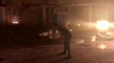 Дублер Скотта Эдкинса, Оуэн О'Брайен на съёмках Тройной угрозы 2