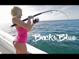 Girls First Time Fishing For Snapper Off The East Coast Of Florida, With Back To Blue Adventure