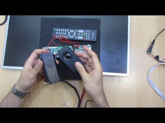 Универсальный скалер HK T.RT2936V02 DVB-C DVB-T2 эфирное ТВ Обзор