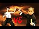 Bruce lee vs baby bruce lee ryusei Imai martial arts