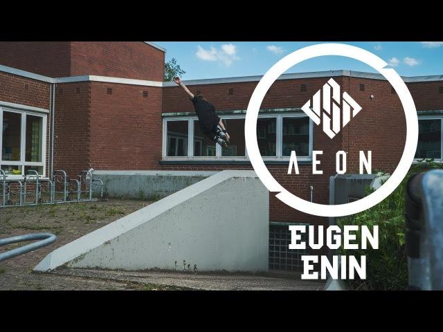 Enin X 72 Eugen Enin on USD Aeon 72 Skates