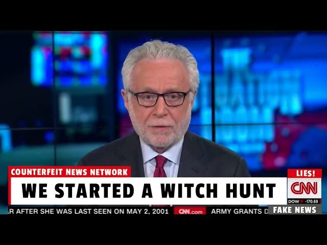 CNN Producer Admits Trump/Russia is Bullsh!t Witch Hunt