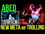 Abed QOP 1 Blink Isn't Enough! New Meta or Troll Build Dota2