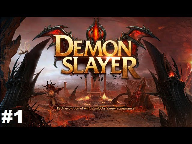 Demon Slayer 1 Gameplay Прохождение Android/iOS Начало игры за Barbarian