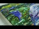 Мастер-класс ирис, живопись мастихином