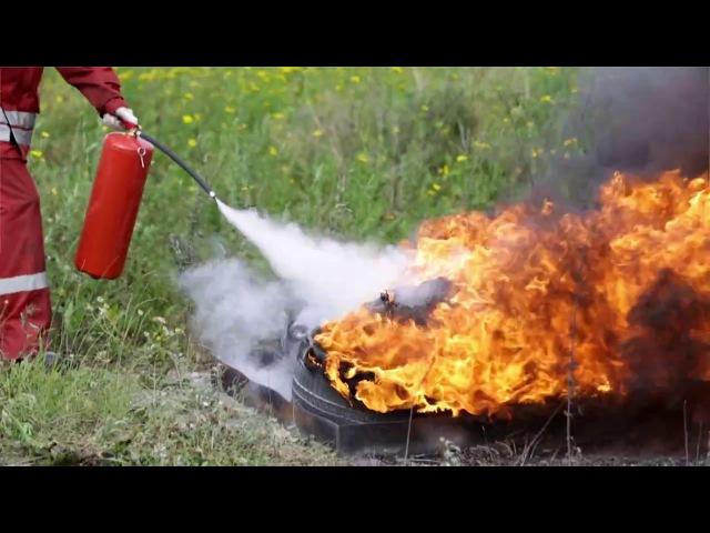 Сравнение огнетушителей