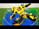 #Бамблби упал в озеро! Первая встреча: #Автоботы и Люди 👋 #Трансформеры Видео игр...