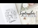 Plan with me | September 2017 | Bullet Journal Tips for Beginners!