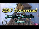 ESO Homestead: Jumping Puzzle Home - Built with Decorations