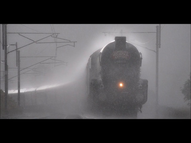 ЗВУК ПОЕЗДА И ДОЖДЯ 2 часа для сна Night train in the rain relaxing sleep sound Train sound