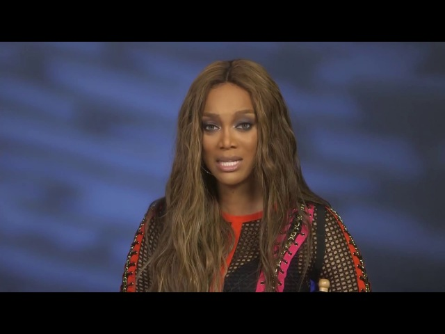 Ronnell Hunt interview with Tyra Banks