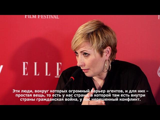 Комментарий Виктории Тигипко( президента ОМКФ) о гражданской войне