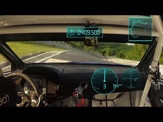 Flat Out Subaru WRX STI Type RA NBR Special Nurburgring In Car