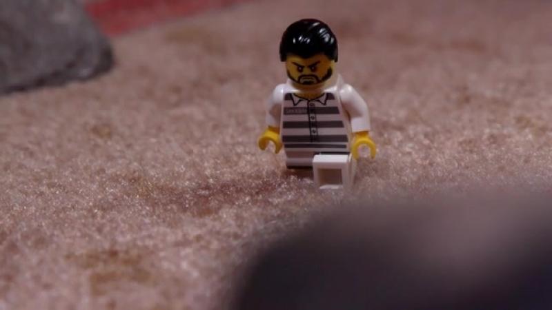 LEGO CITY—Дерзкий побег из тюрьмы в горах!