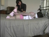 Emily bound and gagged