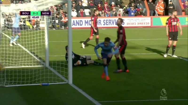 «Борнмут» 22 «Ньюкасл Юнайтед». Премьер-Лига 201718, 28 тур. Обзор матча.