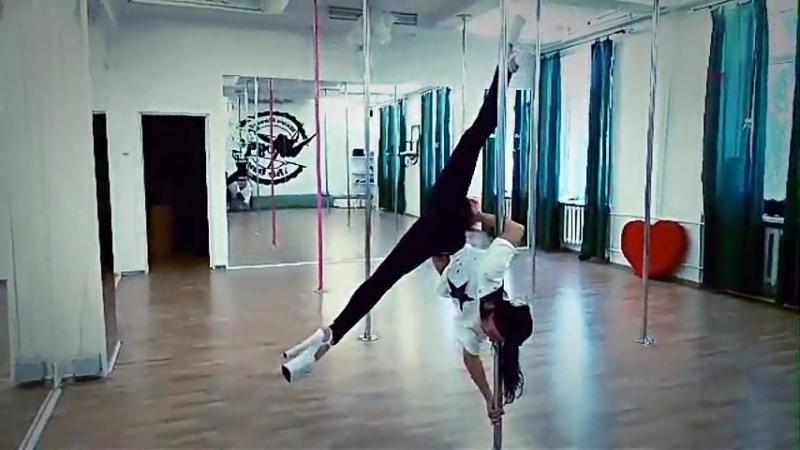 Exotic Pole Dance Юлия Николишина trick