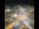 Туман над городом. Завораживающее видео