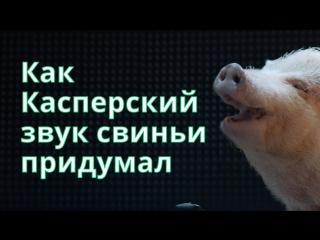Как Касперский звук свиньи придумал