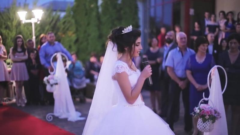 Surpriză muzicală pentru mire ♥ Mireasa canta foarte frumos ♥ 2017 Nunta Moldovenească