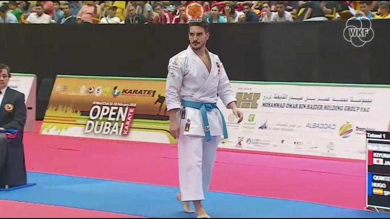 Рио Киюна (Япония) - Дэмиан Куинтеро (Испания)