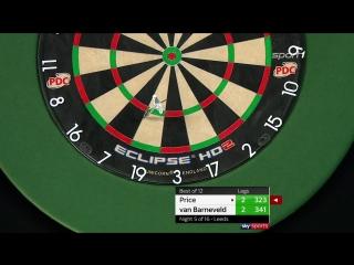 Gerwyn Price vs Raymond van Barneveld (2018 Premier League Darts / Week 5)