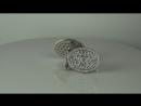 6 2 carat diamond and natural alexandrites cufflinks