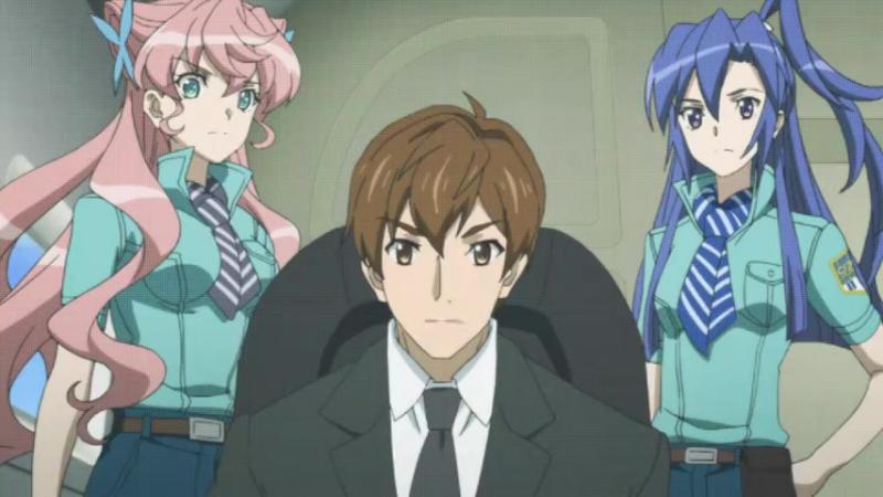 Песня боевых принцесс 4 сезон 1 серия / Симфогир / Senki Zesshou Symphogear AXZ 4 сезон 1 серия Raw