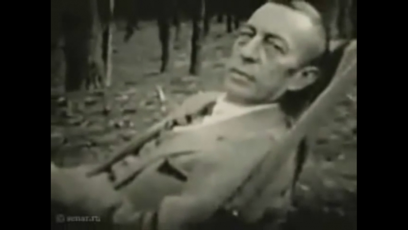 Rachmaninov conducts his Vocalise, op.34