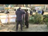 В Пензе на елочных базарах продавали товар и в последний день года