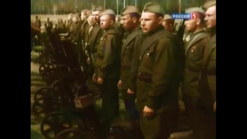 Потрясающее видео о начале ВОВ в цвете (июнь 1941 года).