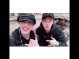 IG 180305 DJ Youngjae &amp Yugyeom @ kbshongkira