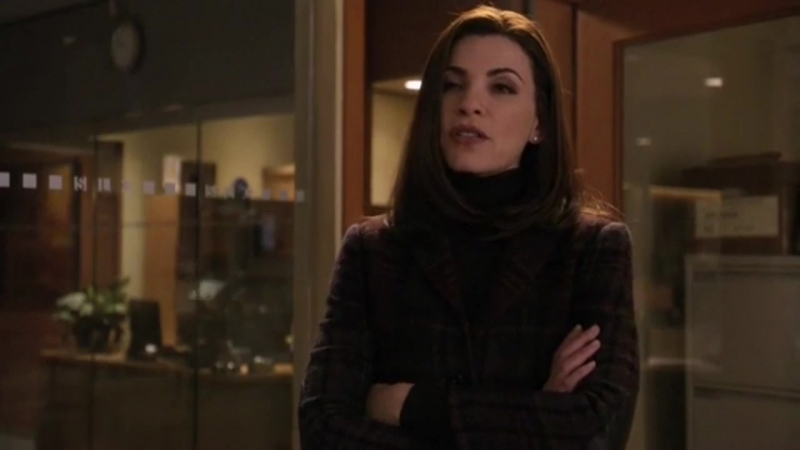The Good Wife 01x15 - Alicia and Eli