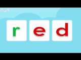 Word Families 12- A Red Bed - Level 1 - By Little Fox