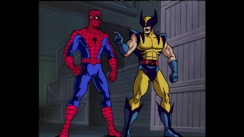 Человек-паук / Spider-Man Сезон 2 / Серия 5 (1994 - 1998) мультсериал