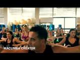 Macumba dance fitness training Rome. Italian music...