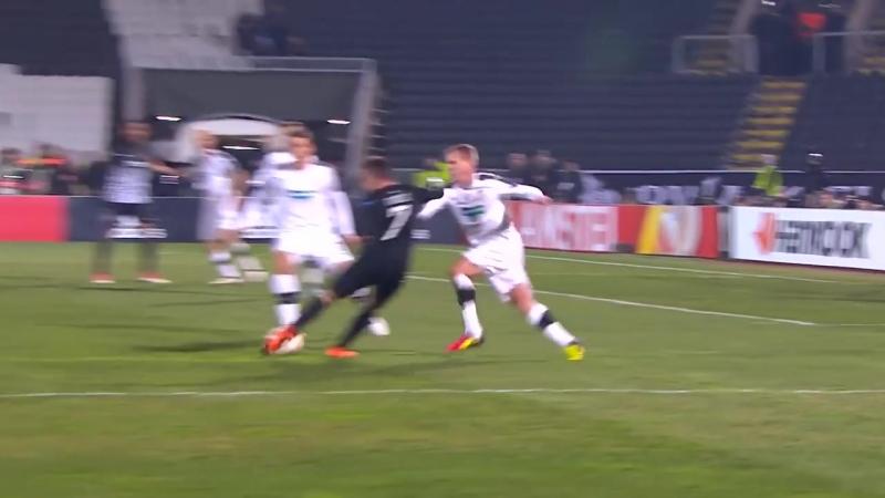 15.02. League Europa. 1_16 Finale. Partizan - Victoria Plzen 1-1