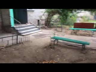 Ремонт входных групп в доме 38 по улице Автозаводская завершен. Сегодня председа