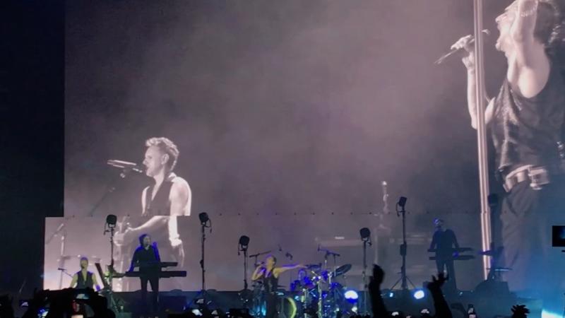 Depeche mode в Москве depechemode depechemodeвмоскве концертdepechemode
