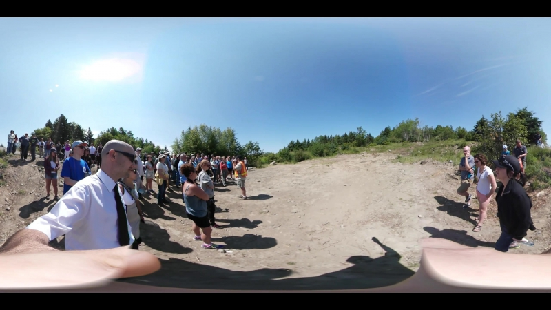 4k 360 video at Oak Island Mystery Money Pit Nova Scotia Canada by This is me in VRundefined