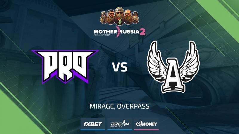 Pro100 vs AGO (de_mirage) [Mother Russia Grandfinal]