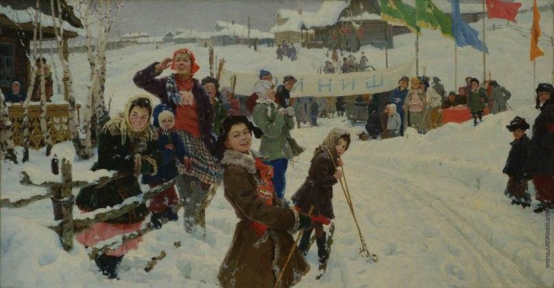 Мазитов Амир Нуриахметович (1928-1992) картины BipqP4rwRkQ
