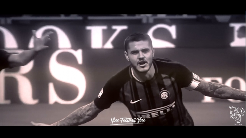 Красивый гол Икарди в ворота Милана | DROBIN | vk.com/nice_football