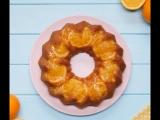 Невероятно простой и очень вкусный апельсиновый кекс! 😋🍊